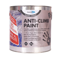 BOND IT Anti-Climb Paint Black 2 Litres (discontinued by Mfr.)