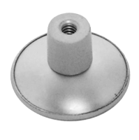 DORTREND 509 Aluminium Cupboard Knob 32mm SAA (discontinued by Mfr.)