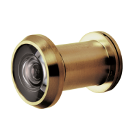 FIRESTOP Architectural FD30/60 Door Viewer 200° PVD Polished Brass