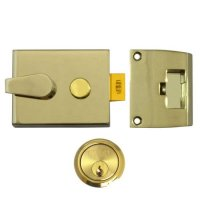 UNION 1026, 1027 & 1028 Non-Deadlocking Nightlatch 1028 - 60mm EB Case - PL Cyl Visi