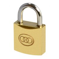 Tricircle 26 Series Brass Open Shackle Padlocks 20mm KD Boxed