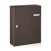DAD Decayeux City 4 Post Box Brown