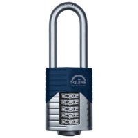 SQUIRE Vulcan Long Boron Shackle Combination Padlock 60mm
