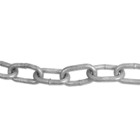 ENGLISH CHAIN Hot Galvanised Welded Steel Chain 5mm GALV 25m