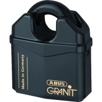 ABUS 37 Series Granit `Plus` Mechanism Solid Steel Rekeyable Closed Shackle Padlock 79mm KD 37RK/80 Visi