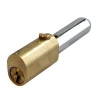 ASEC Oval Bullet Lock 45mm PB KD
