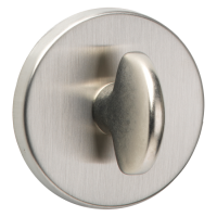 URFIC Easy Click Bathroom Turn and Release Satin Nickel
