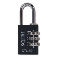 SQUIRE Toughlok Combi Recodable Combination Padlock 30mm - Single Visi (discontinued by Mfr.)