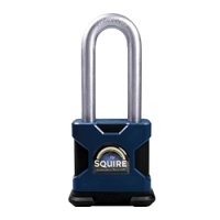 SQUIRE Stronghold Long Shackle Padlock Body Only To Take Scandinavian Oval Insert 50mm Slot