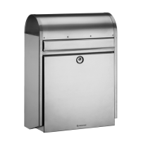 DAD Decayeux D170 Series Post Box Stainless Steel