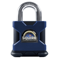SQUIRE Stronghold Open Shackle Padlock Body Only To Take KIK-SS Insert 50mm