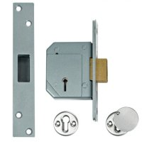 UNION C-Series 3G114 5 Lever Deadlock 67mm SC KD Double Pole Micro Switch DPMS Boxed