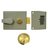 UNION 1026, 1027 & 1028 Non-Deadlocking Nightlatch 1028 - 60mm CG Case - PL Cyl Visi