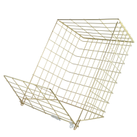 ASEC 62M Medium Letter Cage Brass