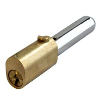 ASEC Oval Bullet Lock 55mm PB KA `A`