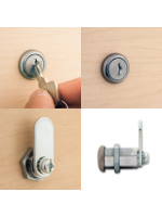 3499AS Weather Resistant Cam Lock 16mm