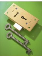 3½'' Large Straight Cupboard Lock 2 Lever No.51L