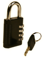 SX-575 42mm Combination Padlock with Master Key Override