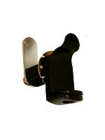 Padlockable Cam Lock - Black