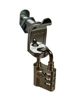 Padlockable Cam Lock - Chrome