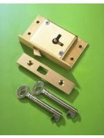 2 1/2'' Cut Sliding Door Lock No.80