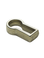 Polished Nickel Cast Brass Thread Escutcheon