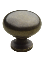 K-12 32mm Classic Kitchen Knob Antique Finish
