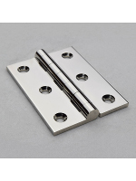 Precision Polished Nickel Butt Hinge 51mm (2'')