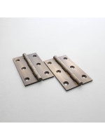 Precision Antique Brass Butt Hinge 64mm (2 1/2'')