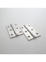 Precision Satin Nickel Butt Hinge 64mm (2 1/2'')