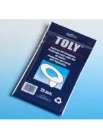 Disposable Paper Toilet Seat Covers (1 Pack of 25)