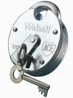 WALSALL ZP Close Shackle 5 Lever Padlock