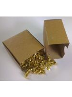 200 x Slotted Countersunk Brass Woodscrews 3 x 3/8''