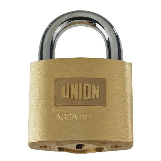 UNION C-Series 1K42 AVA Brass Open Shackle Padlock KD Boxed