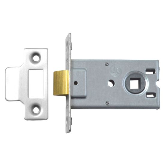Legge 3708 & 3709 Mortice Latch 75mm NP Bagged