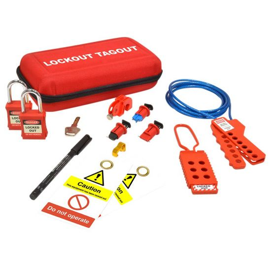 ASEC Maintenance Electrical Lockout Tagout Kit Maintenance Electrical Lockout Kit
