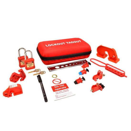 ASEC Advanced Electrical Lockout Tagout Kit Advanced Electrical Lockout Kit