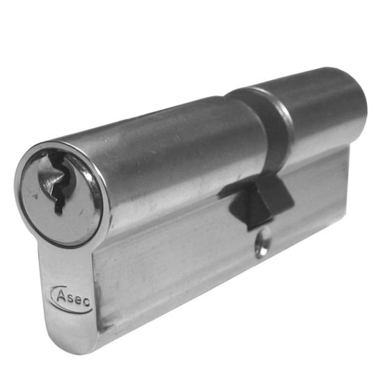ASEC 5-Pin Euro Double Cylinder 90mm 40/50 (35/10/45) KD NP