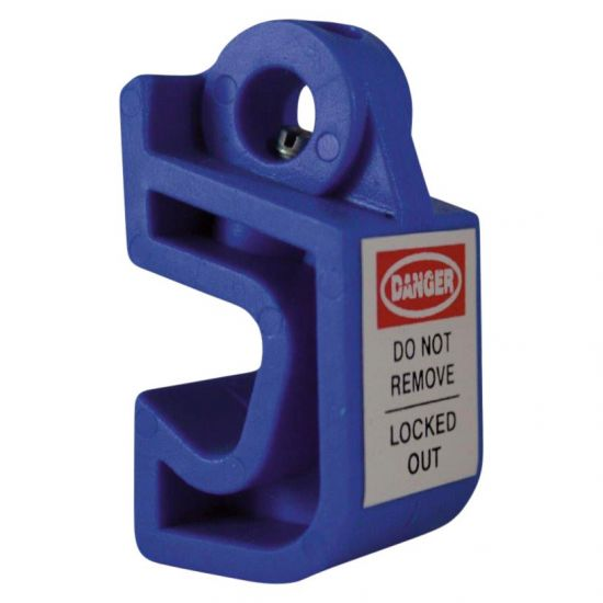 ASEC Mini Circuit Breaker Lockout Universal Blue