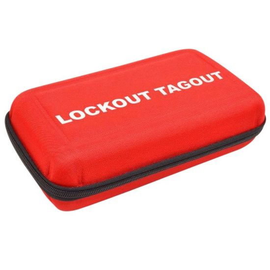 ASEC Lockout Shell Case / Pouch Red