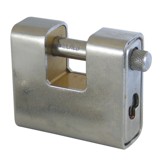 ASEC Steel Sliding Shackle Padlock 60mm KA Boxed