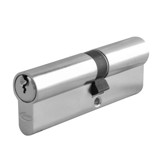 ASEC 6-Pin Euro Double Cylinder 90mm 40/50 (35/10/45) KD NP - Click Image to Close
