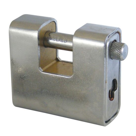 ASEC Steel Sliding Shackle Padlock 60mm KD Visi