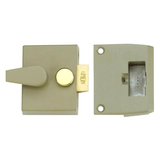 UNION 1026, 1027 & 1028 Non-Deadlocking Nightlatch 1027 - 40mm CG Case Only Boxed