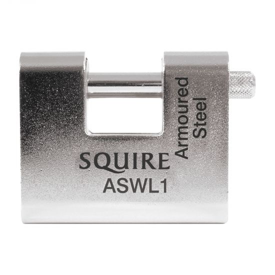SQUIRE ASWL Steel Sliding Shackle Padlock 60mm KD Visi