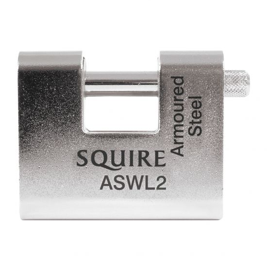 SQUIRE ASWL Steel Sliding Shackle Padlock 80mm KD Visi