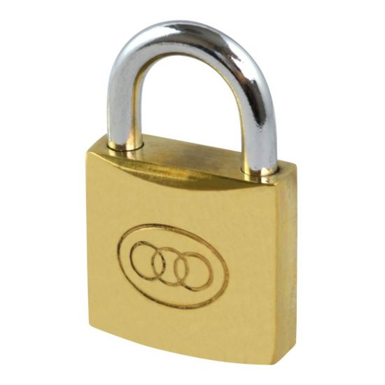 Tricircle 26 Series Brass Open Shackle Padlocks 32mm KD Boxed