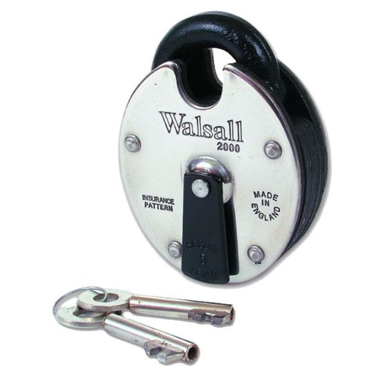 WALSALL LOCKS W2000 Lever Padlock KD Boxed