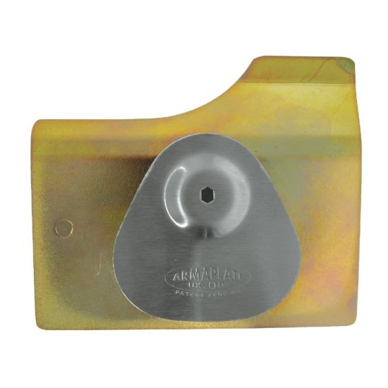 ARMAPLATE Ford Escort Lock Protector Nearside Front