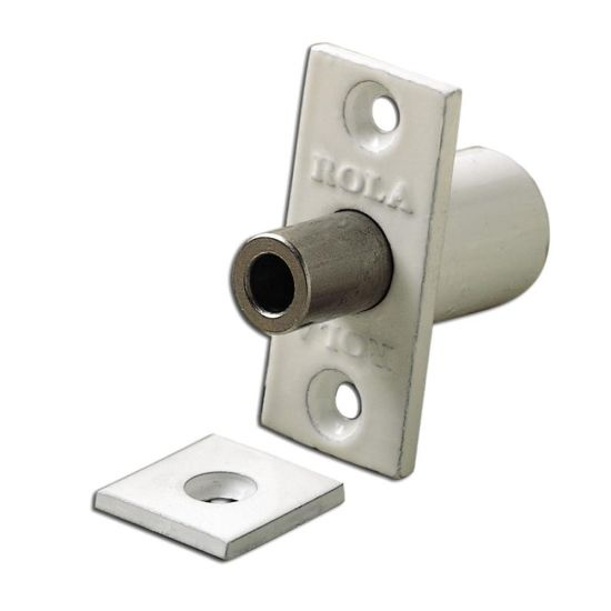 BRAMAH R1 ROLA Retractable Sash Window Stop 14mm WH R1/06